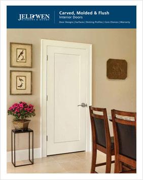 Jeldwen Carved Molded Flush Interior Doors